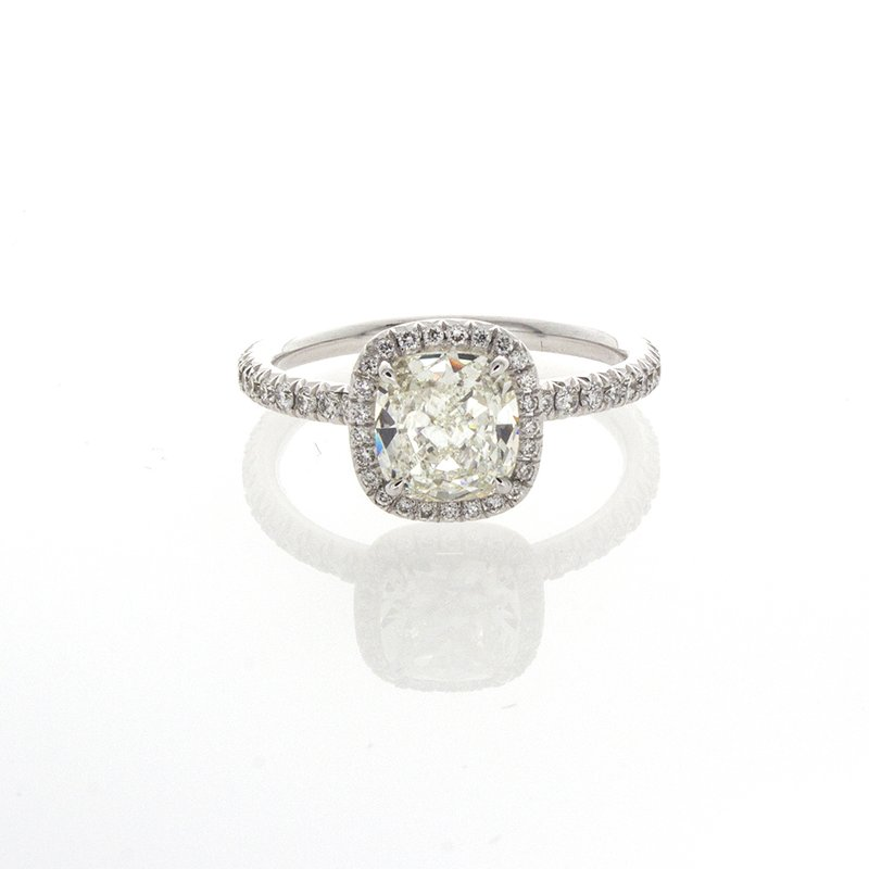William Levine CUSHION CUT DIAMOND 1.21 CT