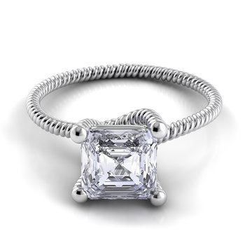 Eleganza Braided Engagement Ring