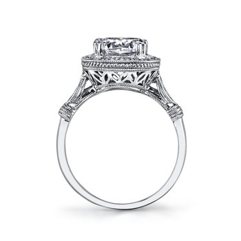 MARS 14664 Diamond Engagement Ring 0.20 Ctw.