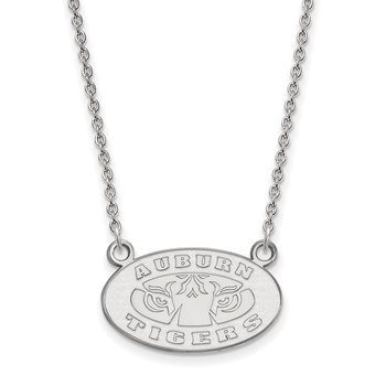 Gold Auburn University NCAA Necklace