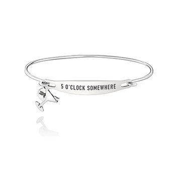 Five O Clock Somewhere ID Bangle