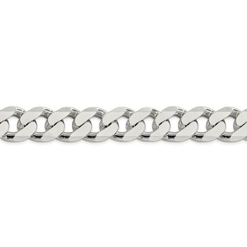Sterling Silver 16.25mm Curb Chain