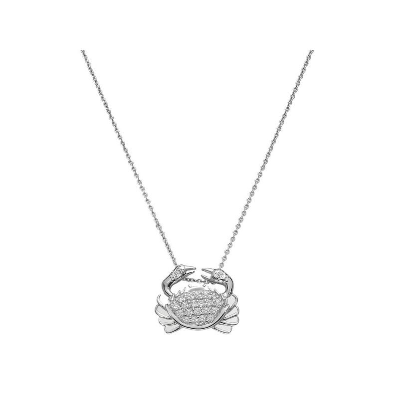 Roberto Coin 18Kt Gold Diamond Crab Pendant