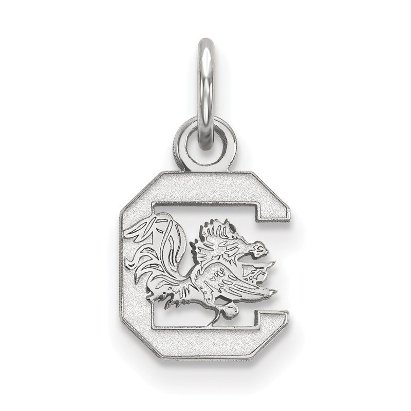 NCAA Sterling Silver University of South Carolina NCAA Pendant