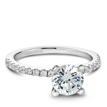 Noam Carver Modern Engagement Ring B017-01A