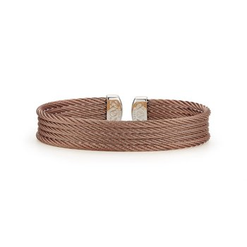 Bronze Cable Mini Cuff