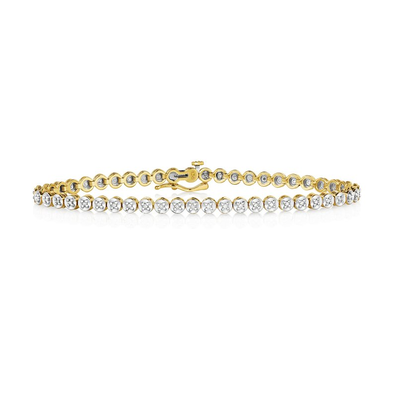 Treasure Diamond Tennis Bracelet