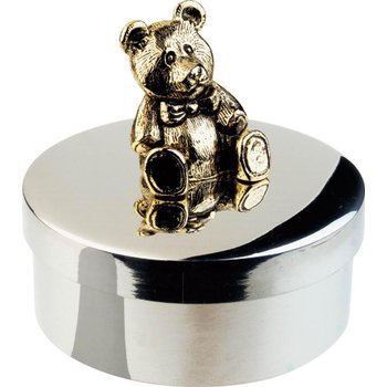Teddy Keepsake Box, 1""