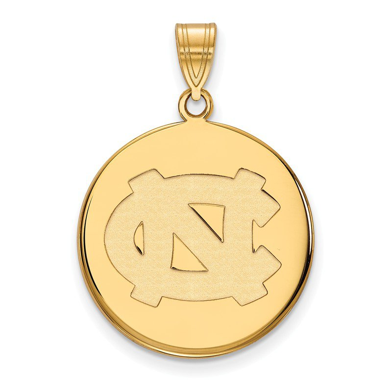 NCAA Gold University of North Carolina NCAA Pendant