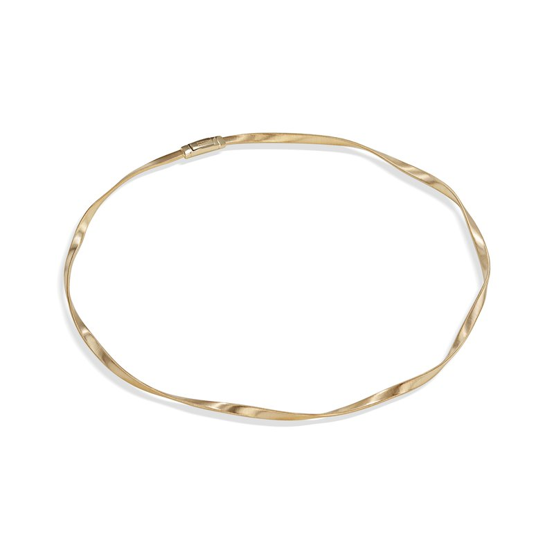 Marco Bicego Marrakech Supreme Yellow Gold Single Strand Necklace