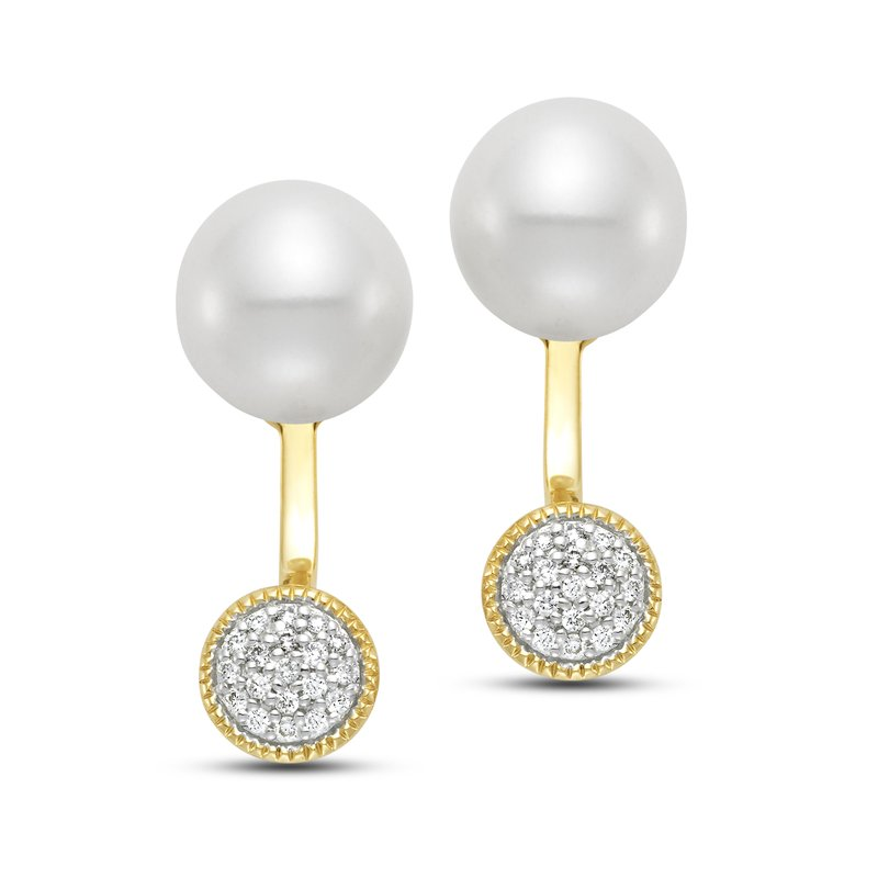 Mastoloni Pearls Caprice Circle Earrings