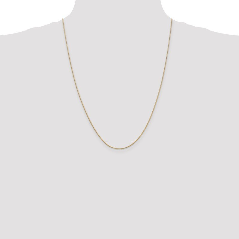 Quality Gold 14k .9mm Round Snake Chain