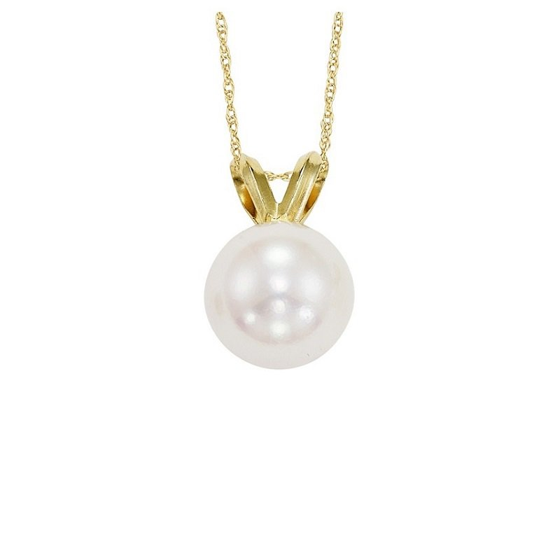 Gemsone Cultured Pearl Pendant 5.5 mm