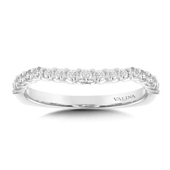 Diamond and 14K White Gold Wedding Ring (0.39 ct. tw.)