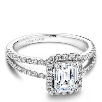 Noam Carver Fancy Engagement Ring B092-01A
