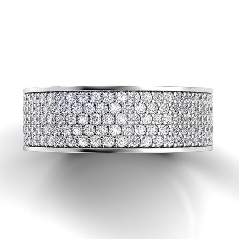 Danhov Classico Flat Diamond Band