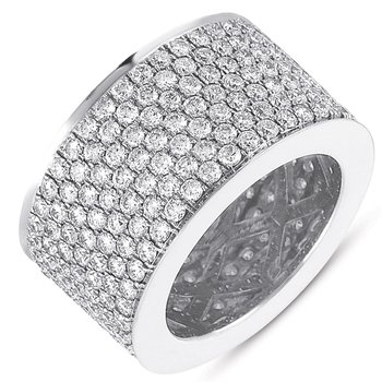 White Gold M.pave Eternity