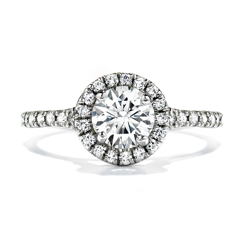 Hearts on Fire 0.5 ctw. Transcend Engagement Ring