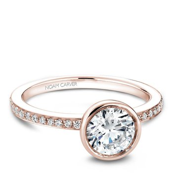 Noam Carver Modern Engagement Ring B095-02RA
