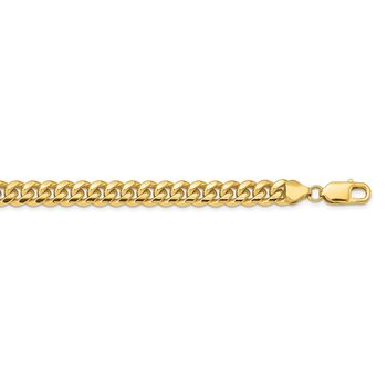 14k 6.75mm Solid Miami Cuban Chain