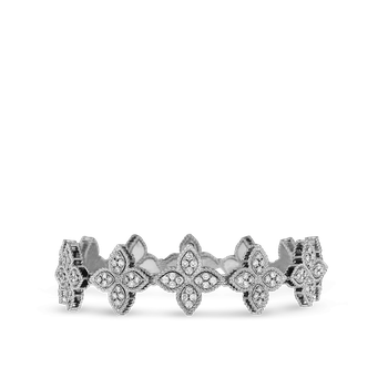 Diamond Link Collar &Ndash; 18K White Gold