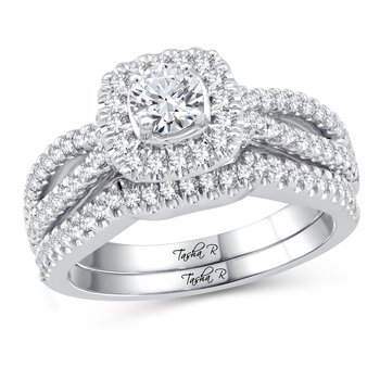 Platinum 1.11Ct Diam Bridal  Ring
