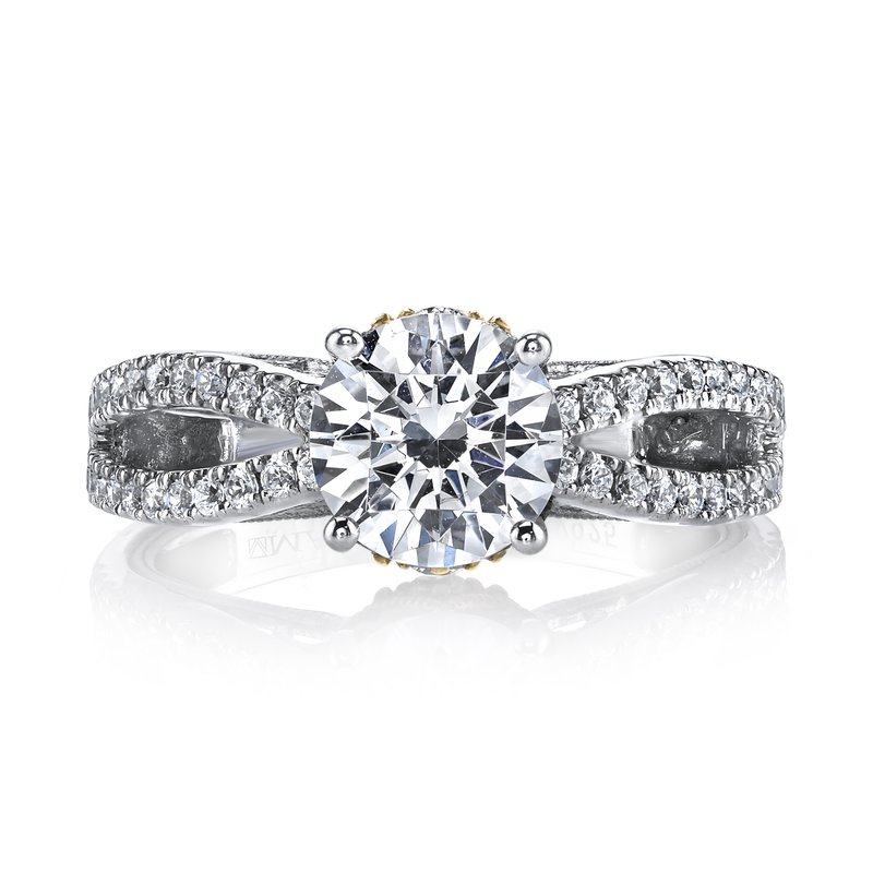 MARS Jewelry Diamond Engagement Ring 0.40 ct tw