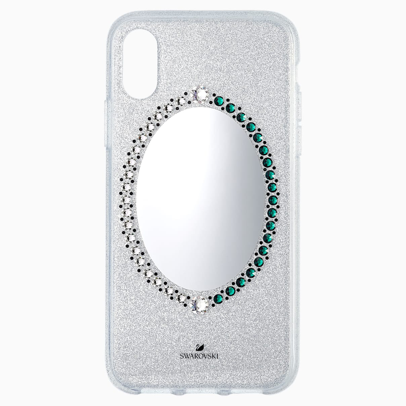 Swarovski Black Baroque Smartphone Case, iPhone® X/XS, Gray