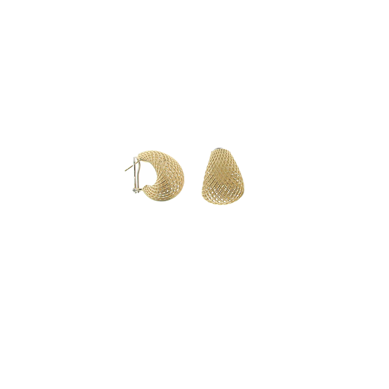 Roberto Coin 18Kt Gold Tapered Earrings