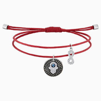 Unisex Hamsa Hand Bracelet, Multi-colored, Stainless steel