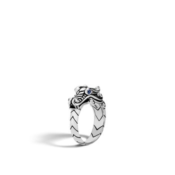 Legends Naga Ring in Silver