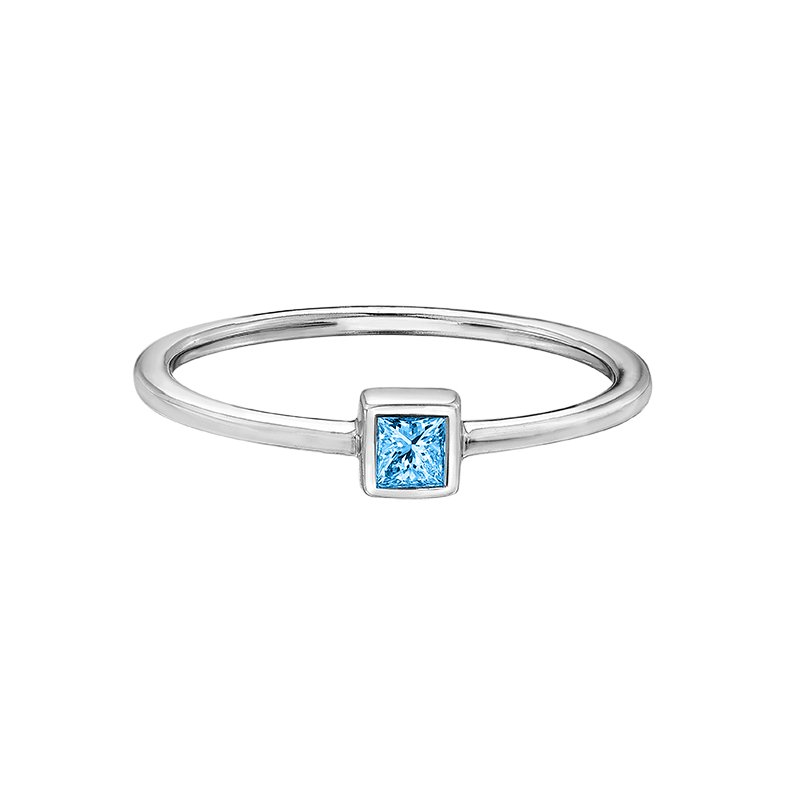 D of D Signature Blue Topaz Ladies Ring