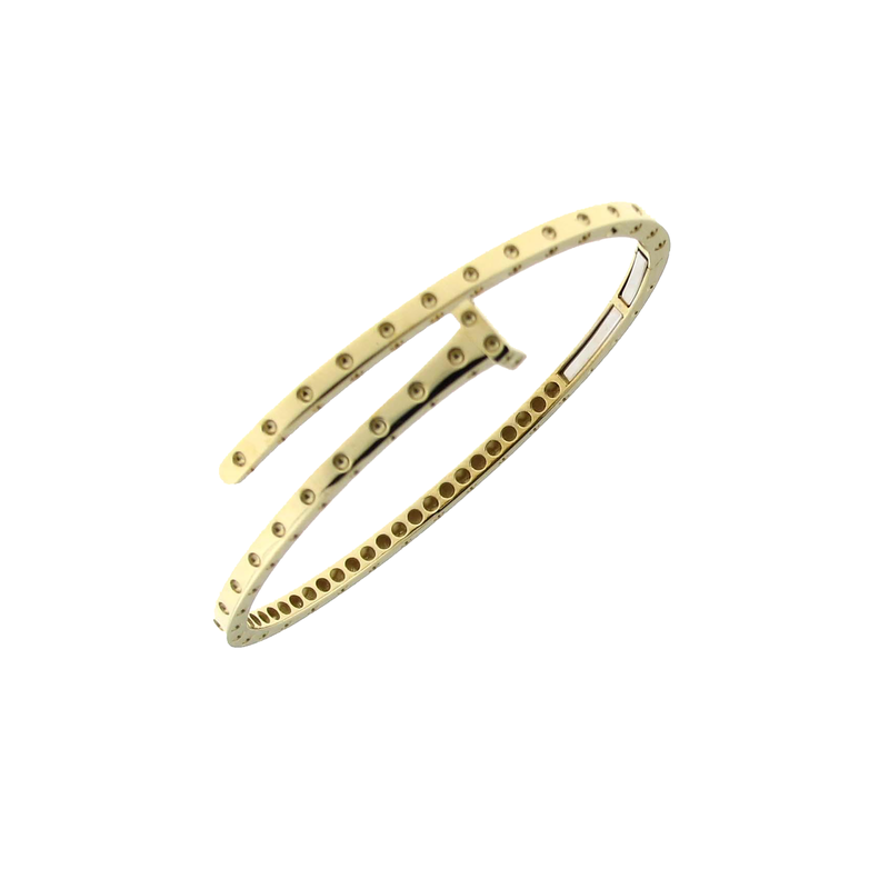 Roberto Coin 18Kt Gold Chiodo Bangle