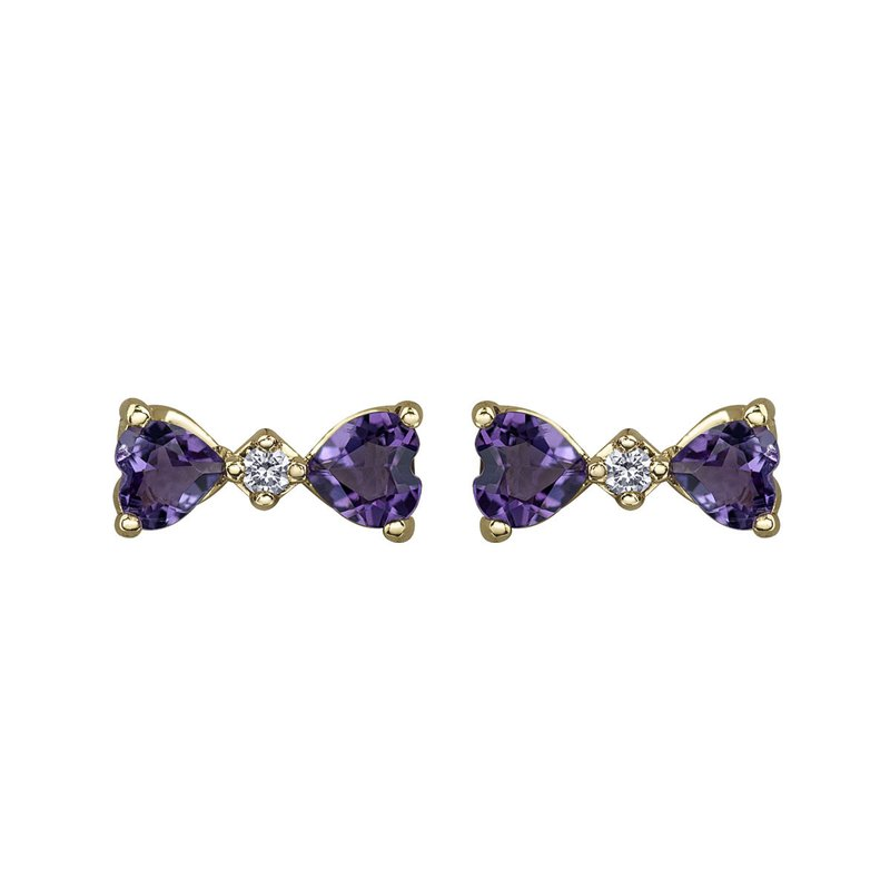 Timeless Beauty Amethyst Earrings