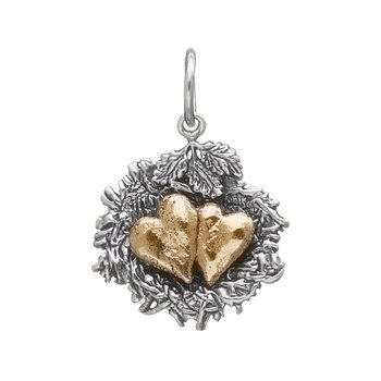 Bundled By Love Nest Charm - 2 Heart