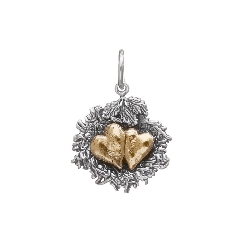 Waxing Poetic Bundled By Love Nest Charm - 2 Heart