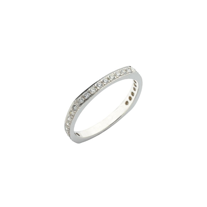 S. Kashi & Sons Bridal Platinum Pave Ring