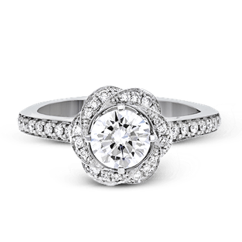 ZR1434 ENGAGEMENT RING