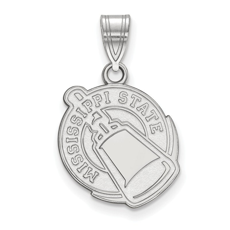 NCAA Sterling Silver Mississippi State University NCAA Pendant