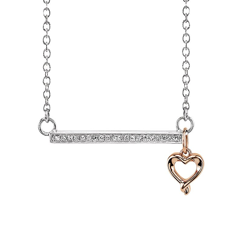 Kissing Hearts Collection Necklace
