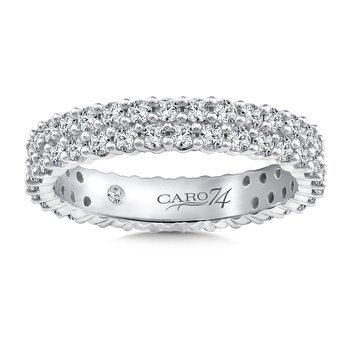 Eternity Band (Size 6.5) in 14K White Gold (1.24ct. tw.)