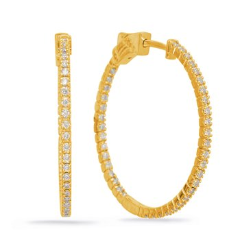1.20 inch Securehinge Hoop Earring