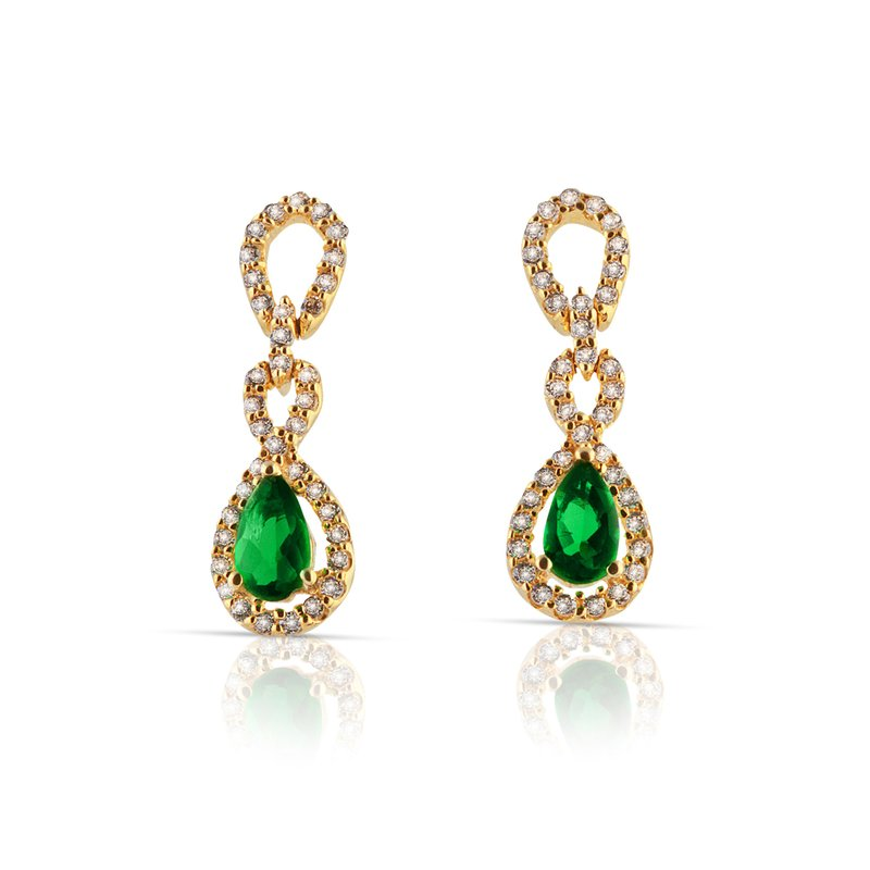 Fana Gemstone Earrings