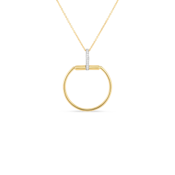 #29123 Of 18Kt Gold Necklace With Diamonds
