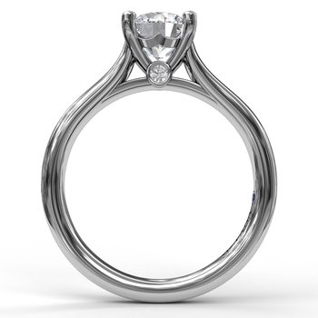 Designer Solitaire Engagement Ring