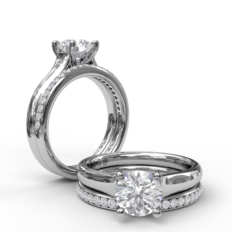 Fana Designer Solitaire Engagement Ring