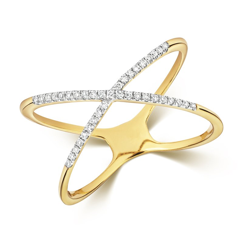Treasure Diamond X Ring