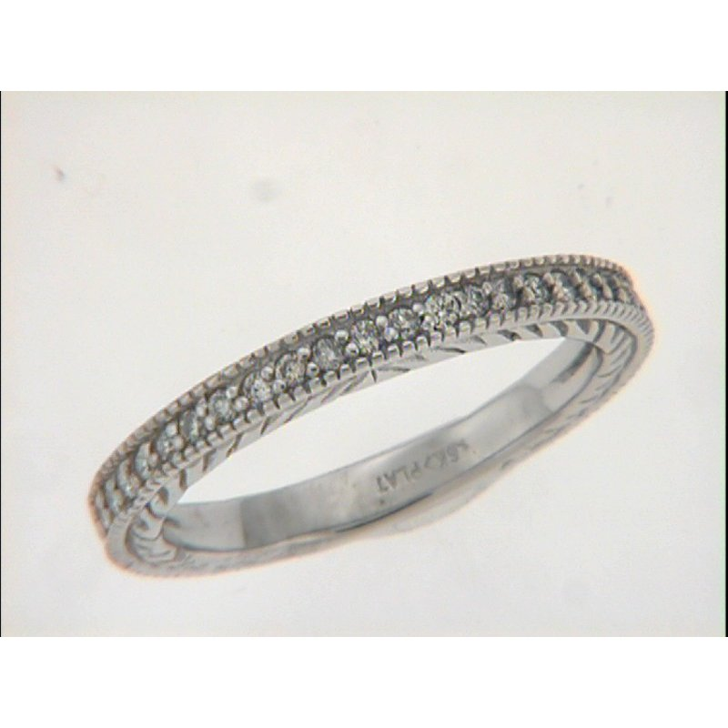 S. Kashi & Sons Bridal Platinum Diamond Band