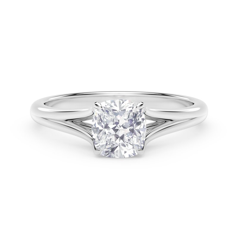Forevermark Engagement and Commitment Forevermark Unity™ Cushion Engagement Ring