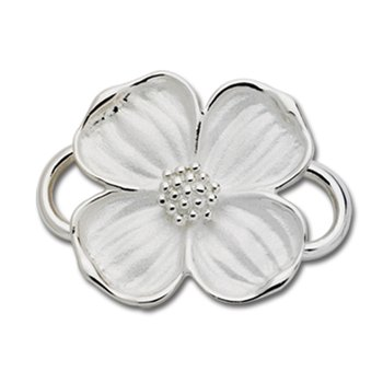 Sterling Silver Dogwood